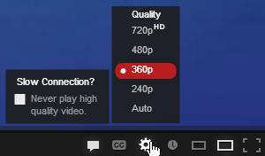 качество видео ютуб
