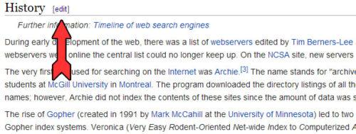 ссылки с википедии